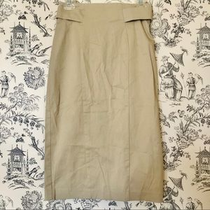 New York & Company Skirts - NWT New York & Co. Khaki Pencil Skirt